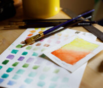 Water paint colors