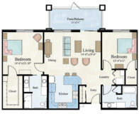 Continental Apartment Floor Plan