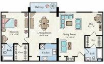 Elite Apartment Floor Plan