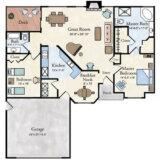 Florentine Villa Floor Plan