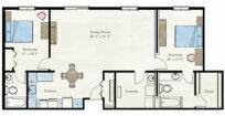 Milan Apartment Floor Plan