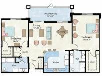 Noble Apartment Floor Plan