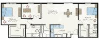 Trivoli Apartment Floor Plan